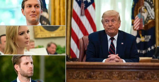 Arkivbilder: Donald Trump, Jared Kushner, Ivanka Trump och Eric Trump TT