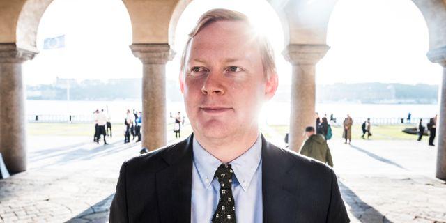 Dennis Wedin (M). Magnus Hjalmarson Neideman/SvD/TT / TT NYHETSBYRÅN