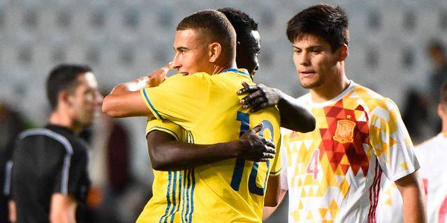 Larsson imponerad av matchhjalten