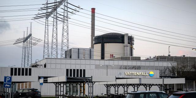 Forsmarks kärnkraftverk. Björn Larsson Rosvall/TT / TT NYHETSBYRÅN