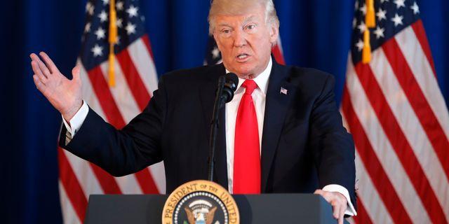 Donald Trump. Pablo Martinez Monsivais / TT NYHETSBYRÅN