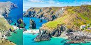 Vid första anblicken av Kynance Cove i södra England tror du kanske att du befinner dig i Grekland. Istockphoto