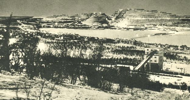 LKAB:s gruva. Bild ur LKAB:s historiska arkiv hos Centrum för Näringslivshistoria. Bild ur LKAB:s historiska arkiv hos Centrum för Näringslivshistoria.