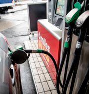 Norsk bensinstation/Illustrationsbild Stian Lysberg Solum / TT NYHETSBYRÅN
