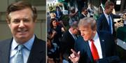 Paul Manafort och Donald Trump TT