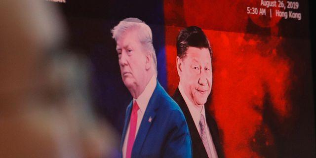 USA:s president Donald Trump och Kinas ledare Xi Jingping. Ahn Young-joon / TT NYHETSBYRÅN