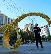 Evergrande-bostäder i Peking. Ng Han Guan / TT NYHETSBYRÅN