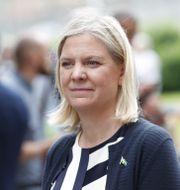 Magdalena Andersson. Christine Olsson/TT / TT NYHETSBYRÅN