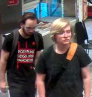 Anatoliy Petersson, 22, och Leonard Höglind, 23.