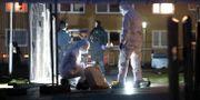 Polisens kriminaltekniker på Söderkulla den 8 december 2018 Johan Nilsson/TT / TT NYHETSBYRÅN