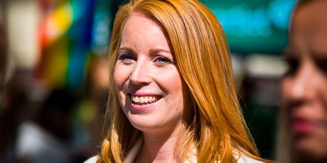 Annie Lööf. Hanna Franzén/TT / TT NYHETSBYRÅN