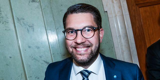 Jimmie Åkesson (SD). Tomas Oneborg/SvD/TT / TT NYHETSBYRÅN