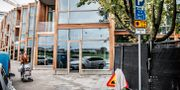 """Oscar Properties nybygge """"Brf Stettin 7"""", även kallad 79&Park på Sandhamnsgatan i Stockholm, 2018. Tomas Oneborg/SvD/TT / TT NYHETSBYRÅN"""
