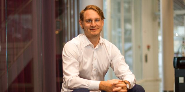 Simon Hansson, Client Executive på Collector Bank.