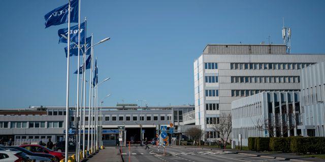 Volvo Cars fabrik i Göteborg. Arkivbild. Björn Larsson Rosvall/TT / TT NYHETSBYRÅN