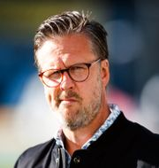 Rikard Norling inför matchen mellan Häcken och AIK den 22 juli. MICHAEL ERICHSEN / BILDBYRÅN