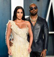 Kim Kardashian och Kanye West. Evan Agostini / TT NYHETSBYRÅN