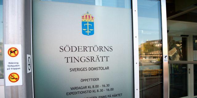 Södertorns tingsrätt. Maja Suslin/TT