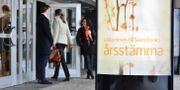 Illustrationsbild. Swedbanks årsstämma i Dansens hus i Stockholm i början av april.  Marcus Ericsson/TT / TT NYHETSBYRÅN