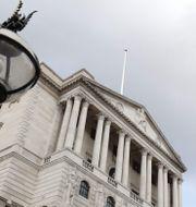 Arkivbild: Bank of England-byggnaden i London.  ADRIAN DENNIS / AFP
