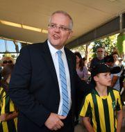 Australiens premiärminister Scott Morrison. SAEED KHAN / AFP