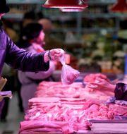 Den inhemska konsumtionen är en viktig drivande faktor i den kinesiska ekonomin.  Jason Lee / TT NYHETSBYRÅN