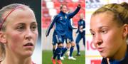 Julia Karlernäs, Julia Roddar och Julia Zigiotti Olme. Bildbyrån.