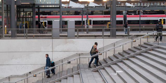 Uppsala resecentrum. Fredrik Sandberg/TT / TT NYHETSBYRÅN
