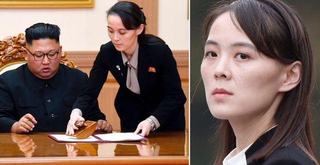 Kim Yo-Jong. Arkivbilder. TT
