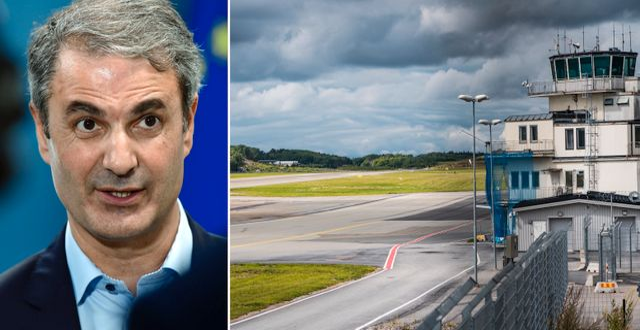 Ibrahim Baylan/Bromma flygplats. TT