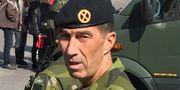 Micael Bydén vid en tidigare försvarsövning med hemvärnet. Arkivbild. Daniel Martinsson/TT / TT NYHETSBYRÅN