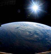 Nasa-astronauten Nick Hague tog fotot över jorden under sin sista vecka i rymden i oktober 2019 – och lade till hashtaggen #MondayMotivation. Nasa/Nick Hague