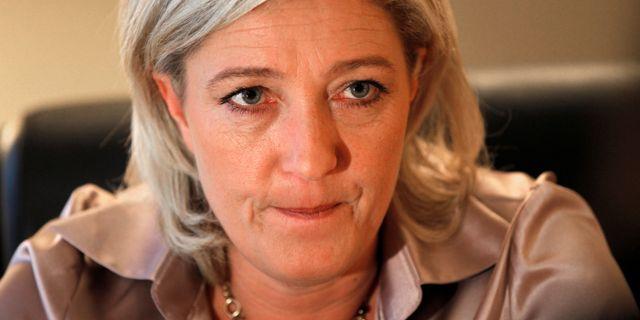 Marine Le Pen. Charles Platiau / TT NYHETSBYRÅN
