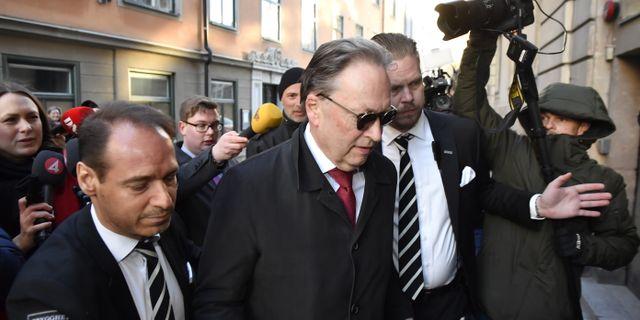 Akademiledamoten Horace Engdahl. Jonas Ekströmer/TT / TT NYHETSBYRÅN