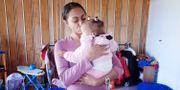 Lilla Malaika kom till Cotlands barnhem i Sydafrika som spädbarn och nu väntar hon på att bli adopterad. I dag är barnhemmet ett pedagogiskt stödcenter för förskolebarn i närområdet. Ingrid Dahlbäck / TT / TT / TT NYHETSBYRÅN