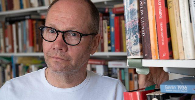 Akademiledamoten Peter Englund. Fredrik Sandberg/TT / TT NYHETSBYRÅN