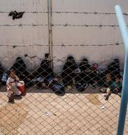 Bild från al-Hol i Syrien. Baderkhan Ahmad / TT NYHETSBYRÅN