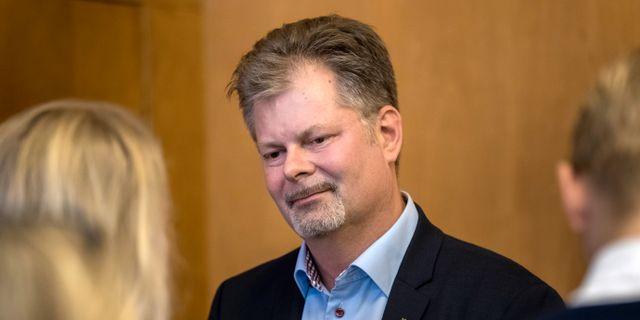 Axel Josefson (M). Thomas Johansson/TT / TT NYHETSBYRÅN