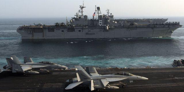 USS Bonhomee Richard Paul J. Perkins / TT NYHETSBYRÅN