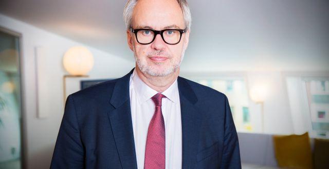Andreas Miller, styrelseordförande, Ledarna Pressbild.