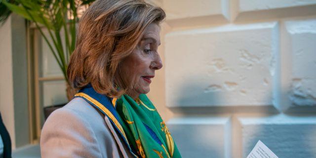 Nancy Pelosi. J. Scott Applewhite / TT NYHETSBYRÅN