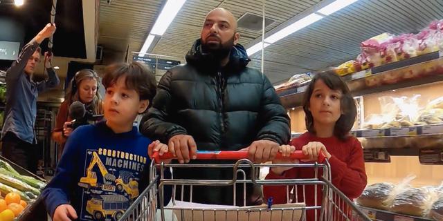 Omar, Ali och Mohammad Allatif. SVT