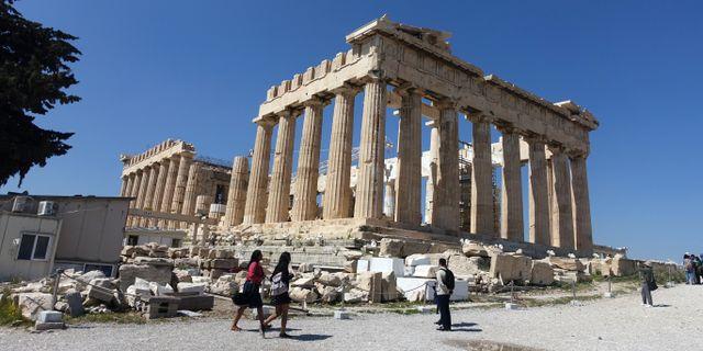 Parthenon i Aten. Løvland, Marianne / TT NYHETSBYRÅN