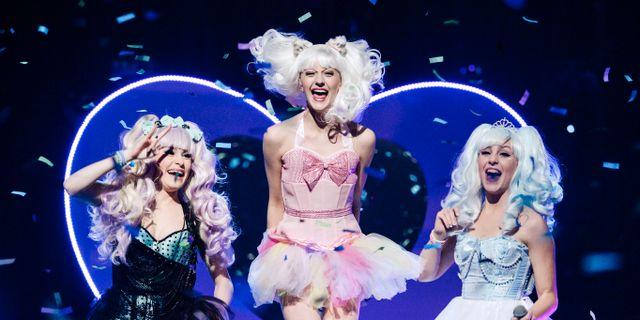 Dolly Style i 2015 års upplaga, när Emma Pucek var med. JANERIK HENRIKSSON / TT / TT NYHETSBYRÅN
