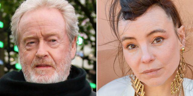 Ridley Scott och Lo Kauppi. TT