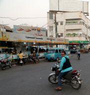 Arkivbild från staden Hodeida i Jemen. - / AFP