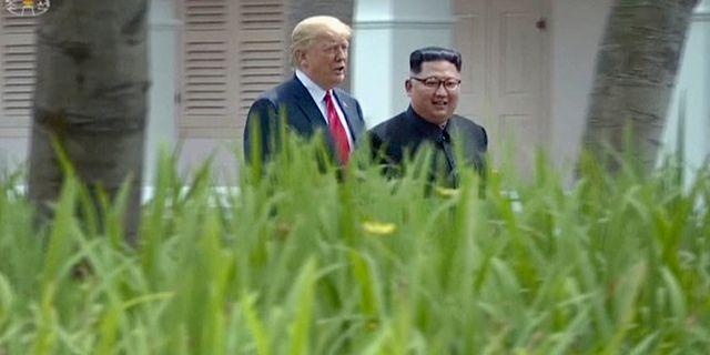 Donald Trump och Kim Jong-Un. TT NYHETSBYRÅN/ NTB Scanpix