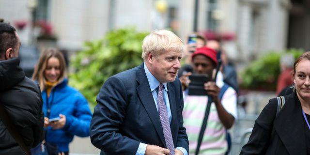 Boris Johnson.  Vudi Xhymshiti / TT NYHETSBYRÅN/ NTB Scanpix