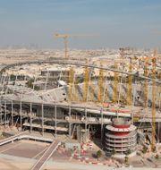 Khalifa International Stadium renoveras inför VM. CARL SANDIN / BILDBYR N