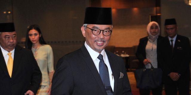 Malaysias nya kung Abdullah. TT NYHETSBYRÅN